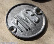 """Эмблема мотоцикла М-72 с надписью """"ИМЗ"""""""
