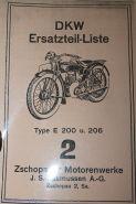 Каталог з/ч DKW E200, E206