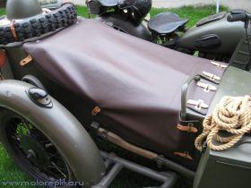 Тент коляски коричневый кожзам